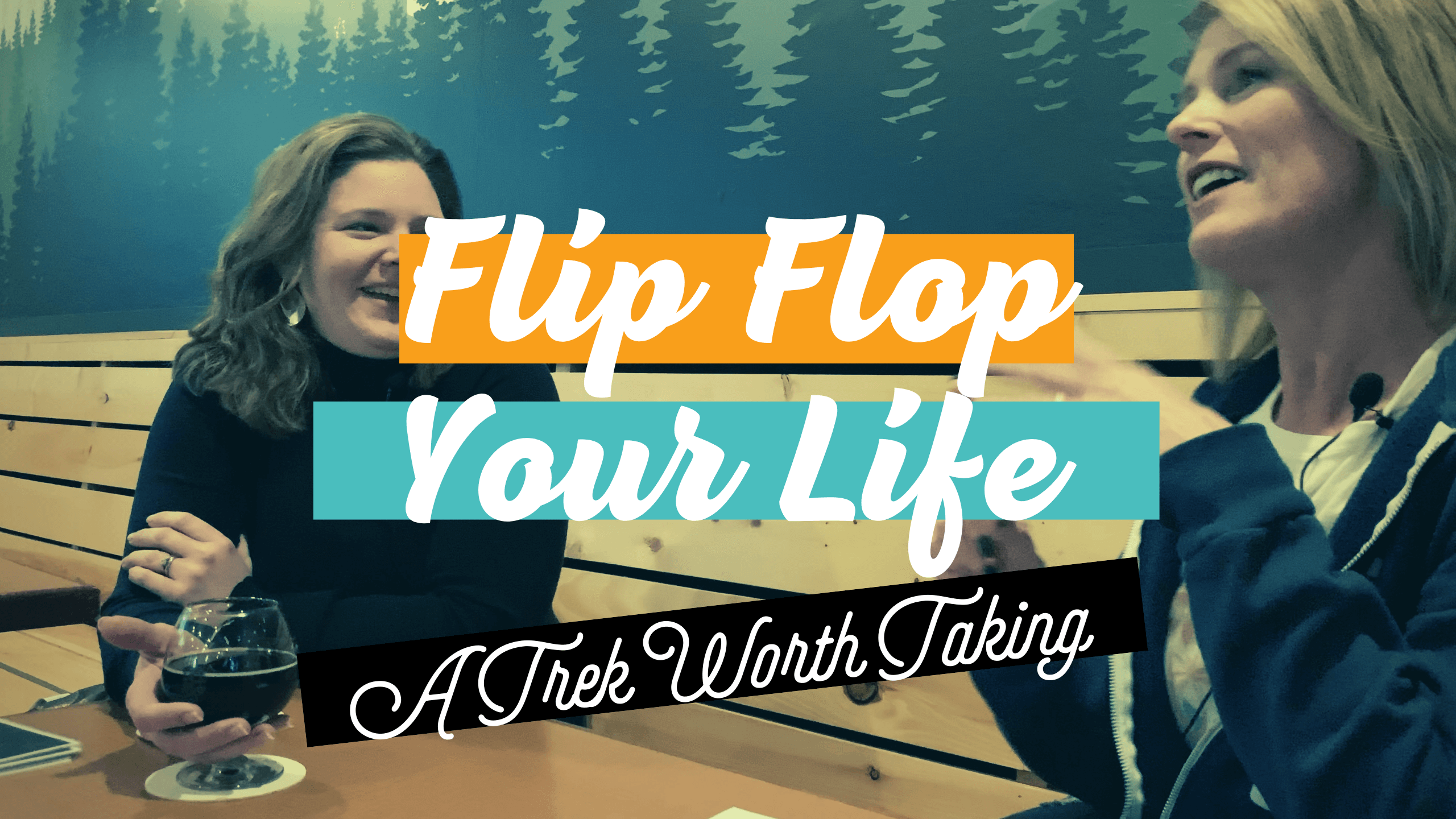 Flip Flop Your Life Podcast Ep. 008 Angie Cherubini with Kristin Ream